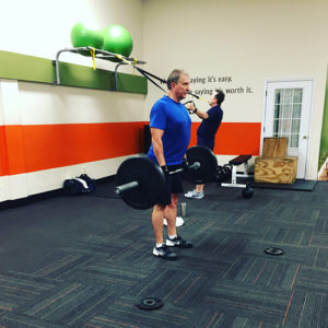 Lifting Weights in Annapolis D3Fitness