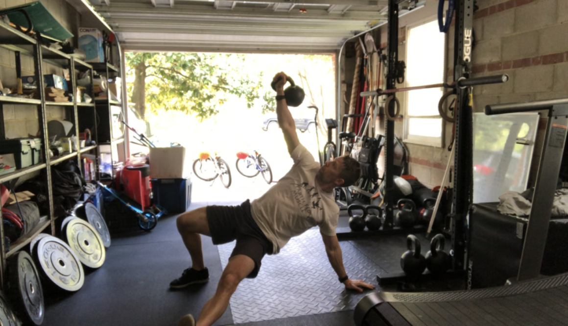 Kettlebell Turkish Getup Core Workout
